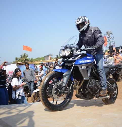 Bikes 2015 India Stunts India Bike Week